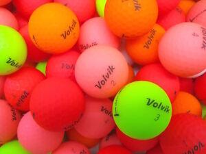 24 VOLVIK VIVID Mixed Colours Lake Golf Balls - PEARL / GRADE A - Ace Golf Balls
