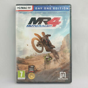 PC MAC DVD-Rom - Moto Racer 4 Day One Edition MR4 NEW SEALED