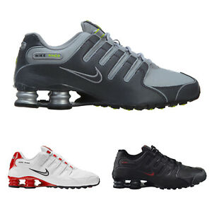 Nike Herren Trainer Shox NZ Athletic Running Sports Leather Synthetic