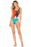 🖤 NWT $195 ONIA Kelly Palm tree One-Piece Swimsuit WS01-24 S