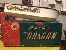"Battery Powered Fleet Line Speedboat "" The Dragon� Original Box"