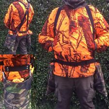 FERRETING NET HARNESS WITH DETACHABLE BAGS & ADJUSTABLE STRAPS RABBITING HUNTING