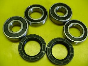 2004 2005 2006 YAMAHA PRO HAULER BOTH FRONT WHEEL BEARING KIT 392