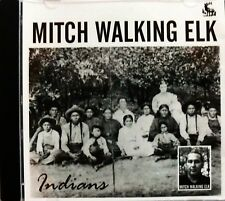 Mitch Walking Elk CD: Indians, Native Indianer North America Blues Folk Musik