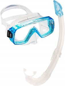 Cressi Sirena Mask & Snorkel Mexico / Gringo - Premium Snorkeling Combo Set