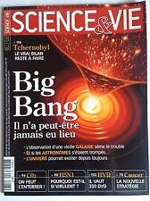 SCIENCE ET VIE  n°1063 du 4/2006; Big Bang/ H5N1/ Cancer/ CO2 enterrer !/ HVD