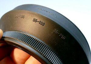 Tamron 28-135mm 35-135mm 35-210mm Adaptall 2 Rubber Lens Hood Shade