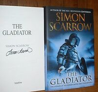 The Gladiator-Simon Scarrow-Signed first edition/first printing