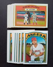 (20x) 2021 Topps Heritage * Angels ALBERT PUJOLS BASE + IN ACTION LOT