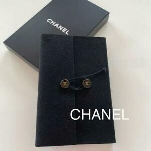 Chanel Notebook Notepad black