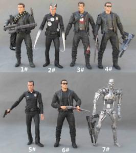 "Terminator 2 T 800 Action Figure toy 7"" Neca Arnold Judgement Day"