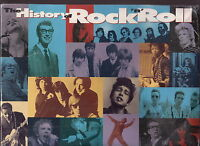 the history of rock n roll 10x vhs sealed box set  time life