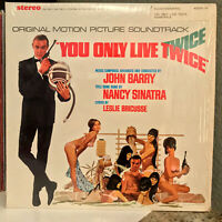 "YOU ONLY LIVE TWICE (007) Movie Soundtrack -12"" Vinyl Record LP- EX (Cheesecake)"