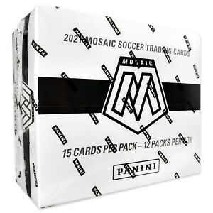 Panini UEFA EURO 2021 MOSAIC SOCCER Multipack Factory Sealed Box