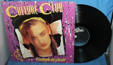 """CULTURE CLUB KISSING TO BE CLEVER ALBUM 12"""" LP EPIC RECORDS 1982 FE 38398"""