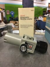 Kodak Ektagrahic Filmstrip Adapter Cat109 4391 With Original Box