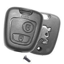 Auto Fernbedienung Funk Schlüssel Ersatz 2 Tasten Gehäuse für Peugeot  206 CC