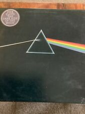 PINK FLOYD. DARK SIDE OF THE MOON.UK 1st Press. Solid Blue Triangle HARVEST 1973