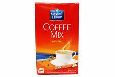 Maxwell House Original Instant Coffee Mix 20/50/100/180/200 Sticks Made In Korea