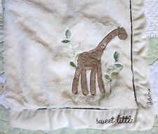 Koala Baby Sweet Little Baby Giraffe Fluffy Plush Baby Boy or Girl Blanket Euc