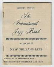 The International Jazz Band Souvenir Program / 1964 Connecticut Trad Jazz Club