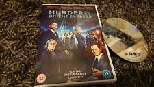 Murder On The Orient Express (DVD 2017) Johnny Depp