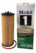 Lot of 2 Mobil 1 Extended Performance Cartridge Oil Filters - M1C- 455A [B46]