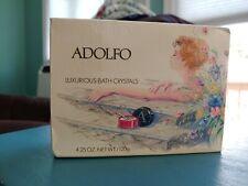 ADOLFO LUXURIOUS BATH CRYSTALS 4.25 OZ *VINTAGE / RARE*  NIB