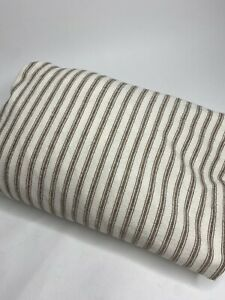 L.L. Bean Striped Flannel Full Fitted Sheet •Full *EUC