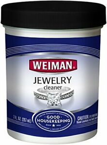 Weiman Jewelry Cleaner Liquid – Restores Shine and Brilliance to Gold, Multi