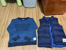 Country Road Puffer Vest And Long Sleeve Top, Size 5