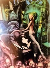 H.R Giger Rare Poster