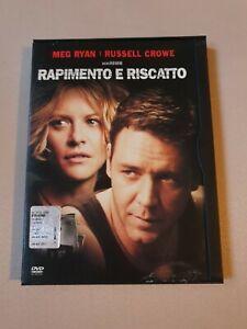 Dvd Rapimento e riscatto con Russell Crowe e Meg Ryan (Molto raro, snapper)