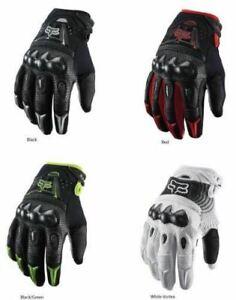 Fox Racing Bomber Motorcycle/ATV Bike Gloves Black / White M/L/XL