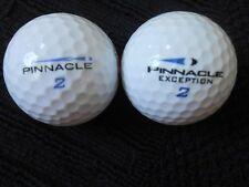 """20  PINNACLE """"EXCEPTION""""  Golf Balls - """"PEARL/A"""" Grades."""