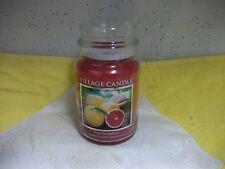 Village Candle Pink Grapefruit Large 26oz Jar Candle