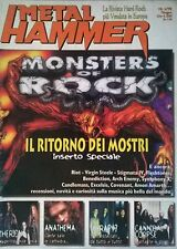 METAL HAMMER N°6 98 MONSTERS OF ROCK THERION ANATHEMA THERAPY? CANNIBAL CORPSE