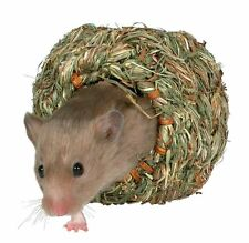 Natural Grass Nest Bed for Gerbils Mice & Dwarf Hamsters 10cm