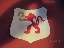 WWII LUFTWAFFE BATTLE OF BRITIAN 3/JG1 LION FIGHTER   SQDN  FLIGHT JACKET PATCH