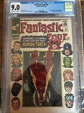 Fantastic Four # 54 CGC 9.0, Black Panther and Inhumans Appearance, HTF!!