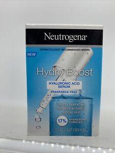 Neutrogena Hydro Boost Hyaluronic Acid Serum Fragrance Free 1.0 fl oz