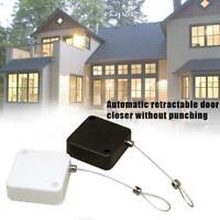 Punch-free Automatic Sensor Door Closer Portable Home Office Doors Off HHNTE