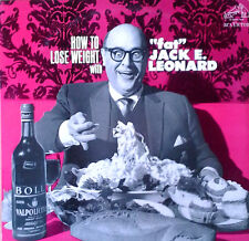 "JACK E. LEONARD - HOW TO LOSE WEIGHT WITH ""FAT"" JACK E. LEONARD - RCA LP - '64"