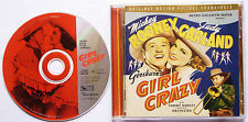 Girl Crazy Soundtrack, Judy Garland, Tommy Dorsey, Mickey Rooney George Gershwin