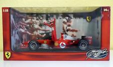 HOT WHEELS RACING FERRARI f1, M. Schumacher in vincitore pose, 1:18, disponibilità limitata