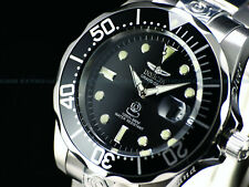 Invicta Men 47mm Classic Grand Diver Automatic Black Dial Stainless Steel Watch
