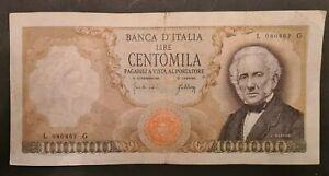 100000 LIRE MANZONI 03 LUGLIO 1967