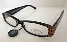 e2a8610b87d Jimmy Crystal Light Topaz Swarovski Crystal Reading Glasses
