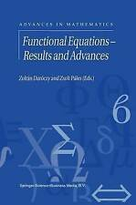 NEW Functional Equations ― Results and Advances (Advances in Mathematics)