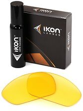 Polarized IKON Replacement Lenses For Oakley X-Metal Juliet Sunglasses HD Yellow